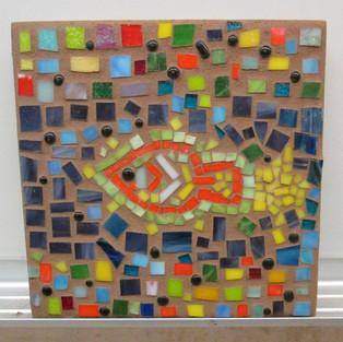 Mosaic workshop at the CCAE