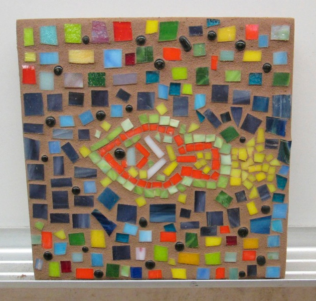 Mosaic workshop at the CCAE