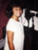 Amanda Barise recording album in the studio