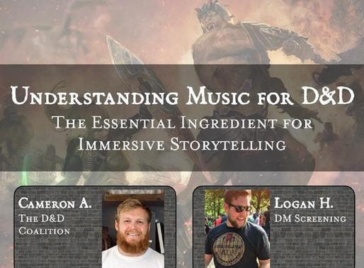 UNDERSTANDING MUSIC FOR D&D