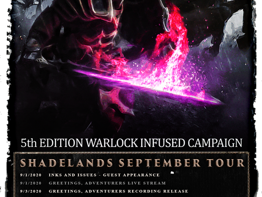 SHADELANDS SEPTEMBER TOUR