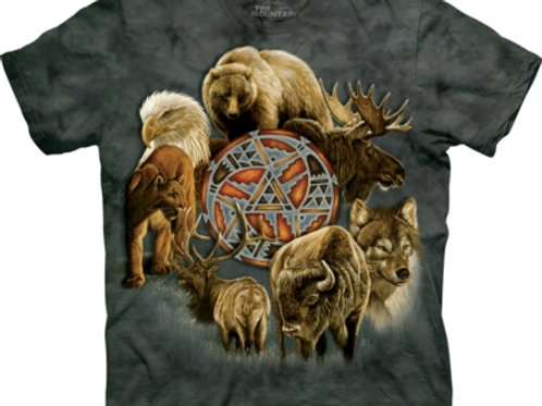 Animal Spirit Circle T-shirt.