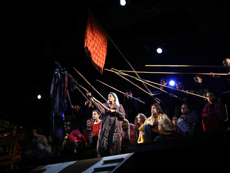 """The Trojan Women"" at La MaMa"