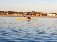 Fun morning kayaking at La Ribera