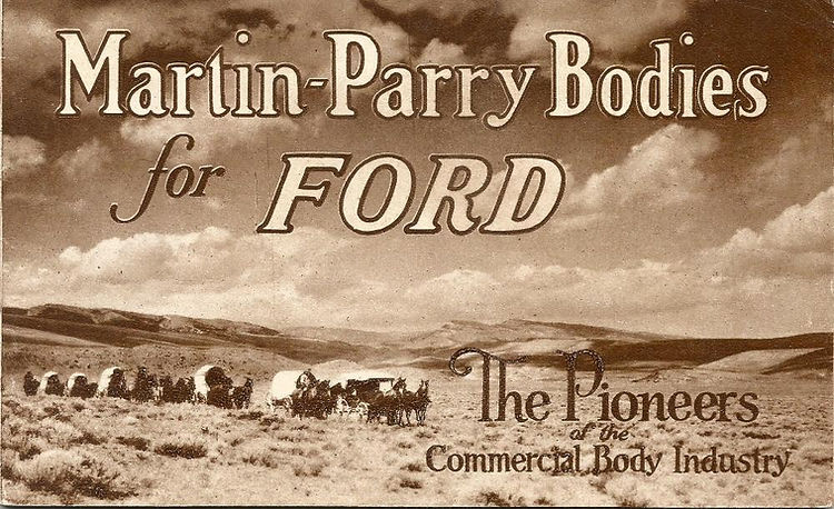 Martin Parry Dealers Catalog 1928 page F