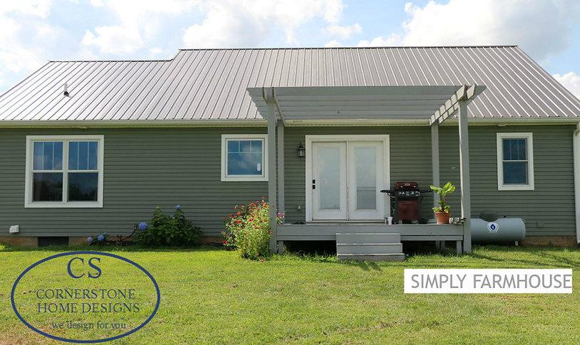 Simply Farmhouse Cornerstone Home