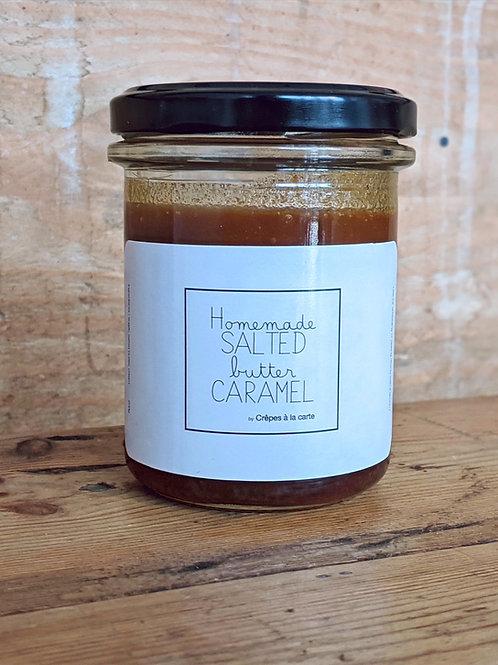 Homemade salted butter caramel