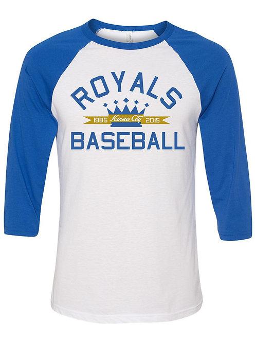 Royals Baseball Raglan Tee