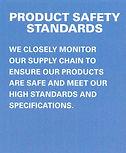 SanMar Production Safety Standards Info
