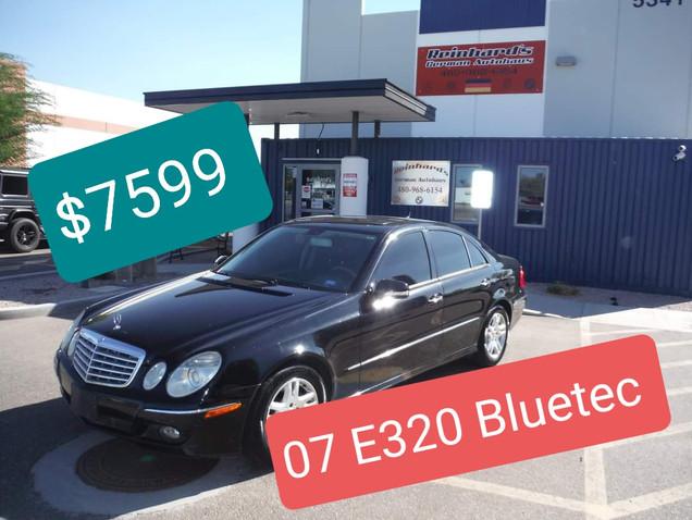 07 Mercedes E320 Diesel