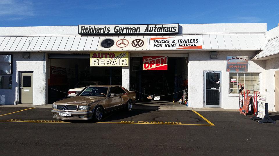 Reinhard 39 S German Autohaus Master German Auto Repair Mesa