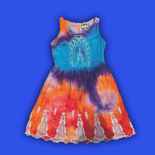 Hand Tie Dyed Dress