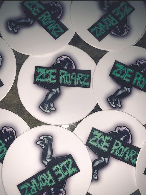 Zoe Roarz Stickers