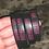 Thumbnail: Black and Pink Zoe Roarz Bracelet