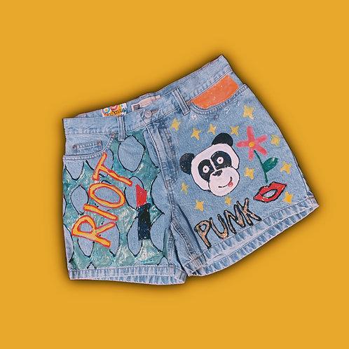 Riot Punk Shorts