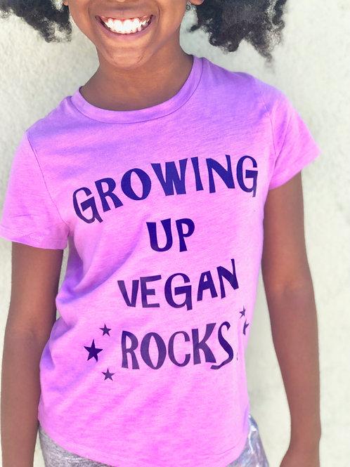 Growing Up Vegan Rocks