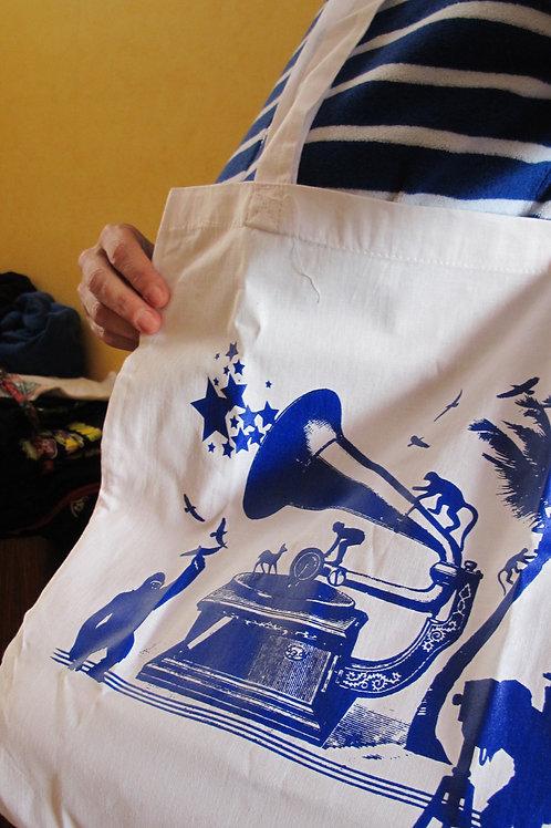"""Tote bag """"gramophone"""""""