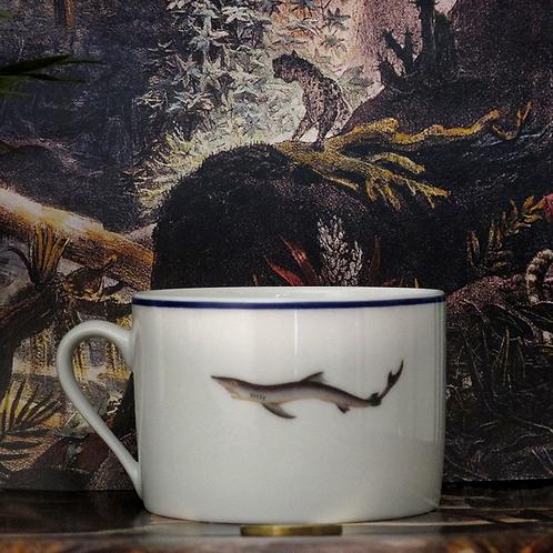 Tasse en porcelaine Fish