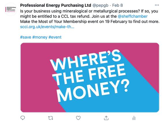 Professional Energy Purchasing Social