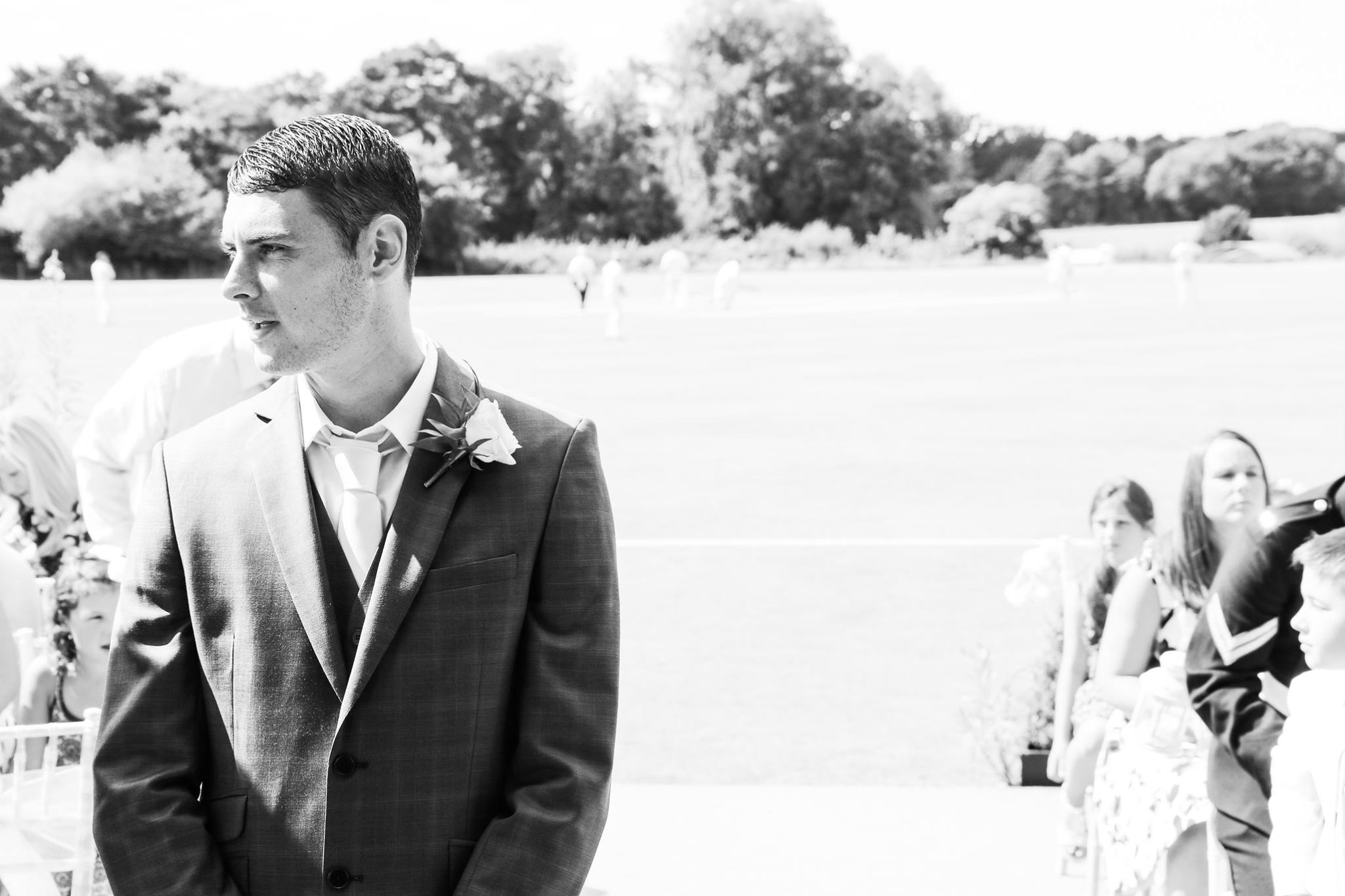 Shenley Cricket Club Wedding