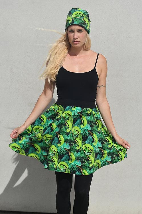 Chameleonová podzimní sukně