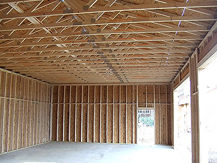 Turn-Key garage building techniques.