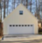 Bonus room garage built in Pleasant Garden, NC.
