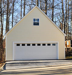 Bonus room garage built in Pleasant Garden, NC.