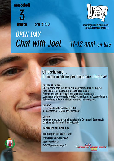 Chat with Joel