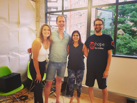 Guitarist for Yoga Class held by Annie Clarke (@mind_body_bowl) in aid of Hope for Children
