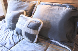 Soft pillows and sheets
