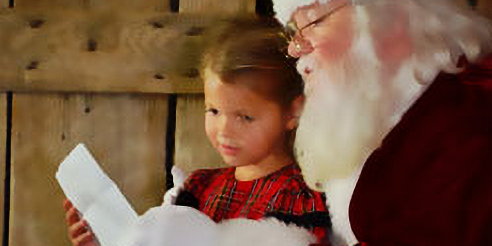 Snack and Snap with Santa