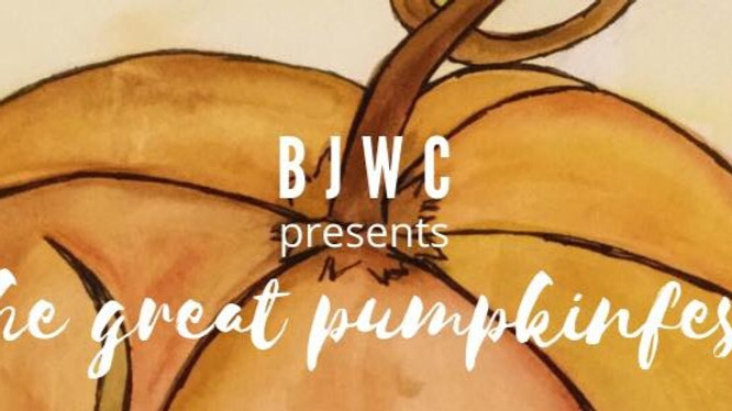 28th Annual BJWC - THE GREAT PUMPKINFEST