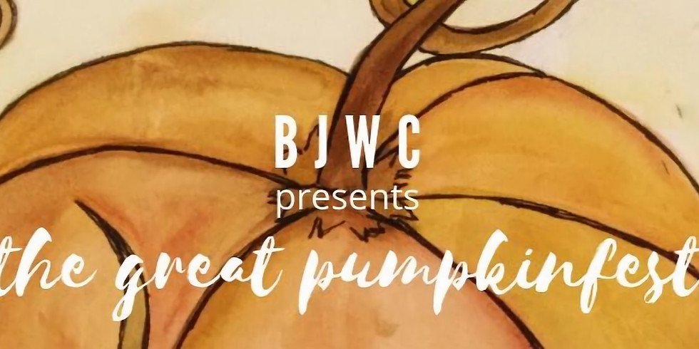 27th Annual BJWC - THE GREAT PUMPKINFEST