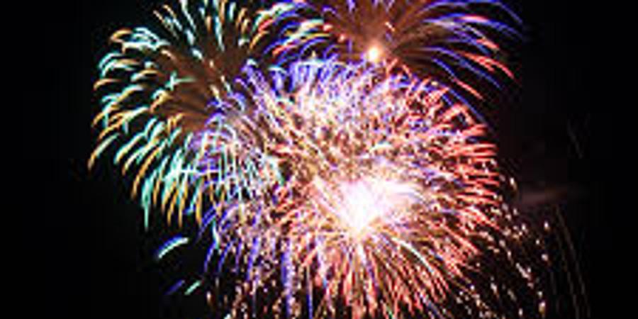 Fireworks at Dark