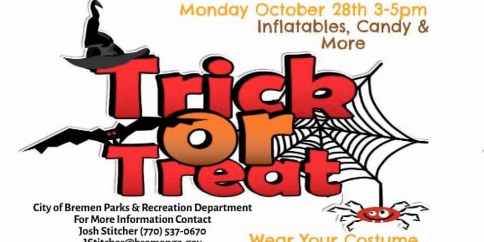 Bremen's Downtown Trick or Treat