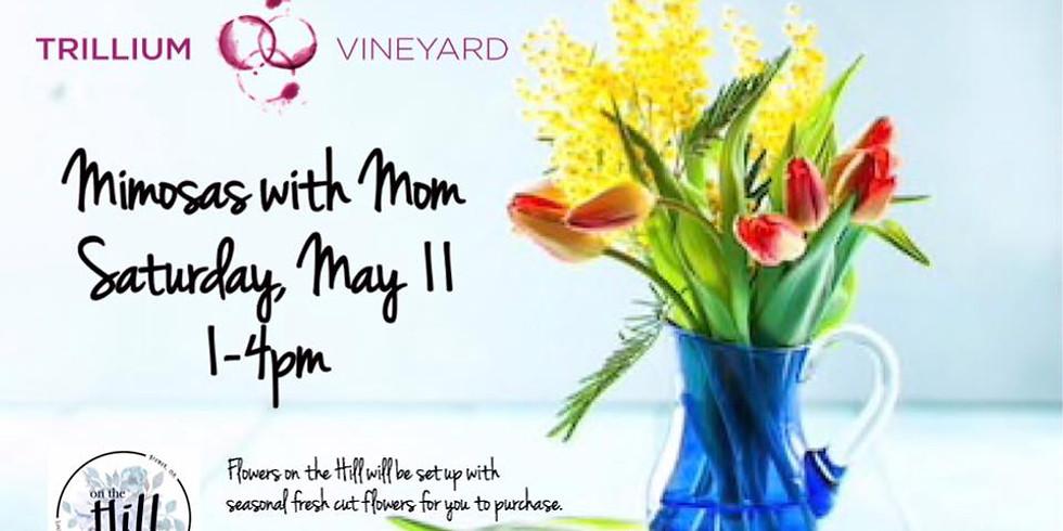 Mimosas with Mom at Trillium Vineyards