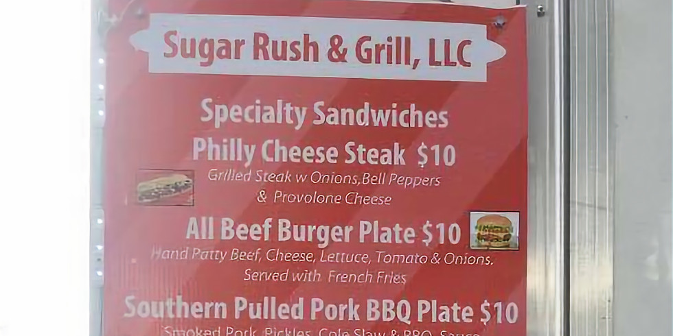 Food Truck Friday with Sugar Rush & Grill