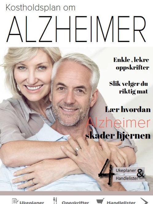 E-bok om Alzheimer og livsstil