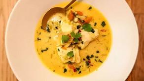 Thai inspirert fiskesuppe