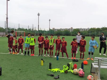 6年生のリーグ戦@さくら運動公園