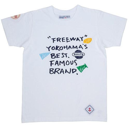 """FAMOUS BRAND""プリントTシャツ"