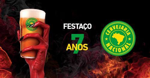 Aniversário de 7 anos da Cervejaria Nacional (Imagem: Divulgação)