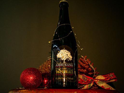 Maniacs lança cerveja para o Natal maturada em barril de cachaça