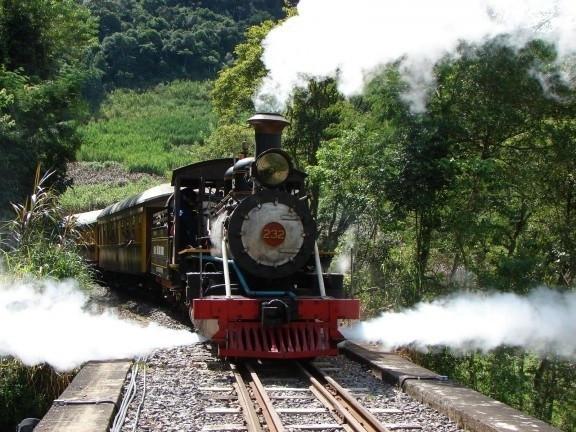 Passeio de Trem em Apiúna - Foto: Reprodução