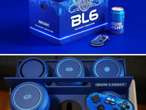 Bud Light lança console de videogame que também refrigera a cerveja