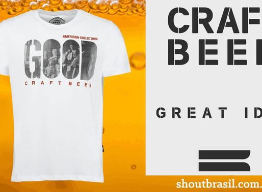 Shout Brasil faz homenagem aos homebrewers em suas camisetas