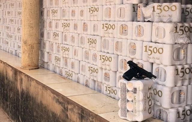 Polícia Civil recupera em Goianira carga de cerveja roubada (Imagem: Polícia Civil)
