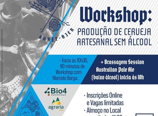 Workshop: Produção de Cerveja Artesanal Sem Álcool