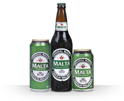 Cerveja Malta / Foto: Divulgação